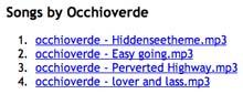 occhioverde bis MyspaceGrab.com