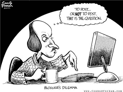 Blogger's Dilemma