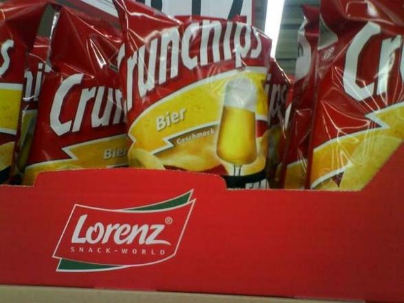 Crunchips Bier