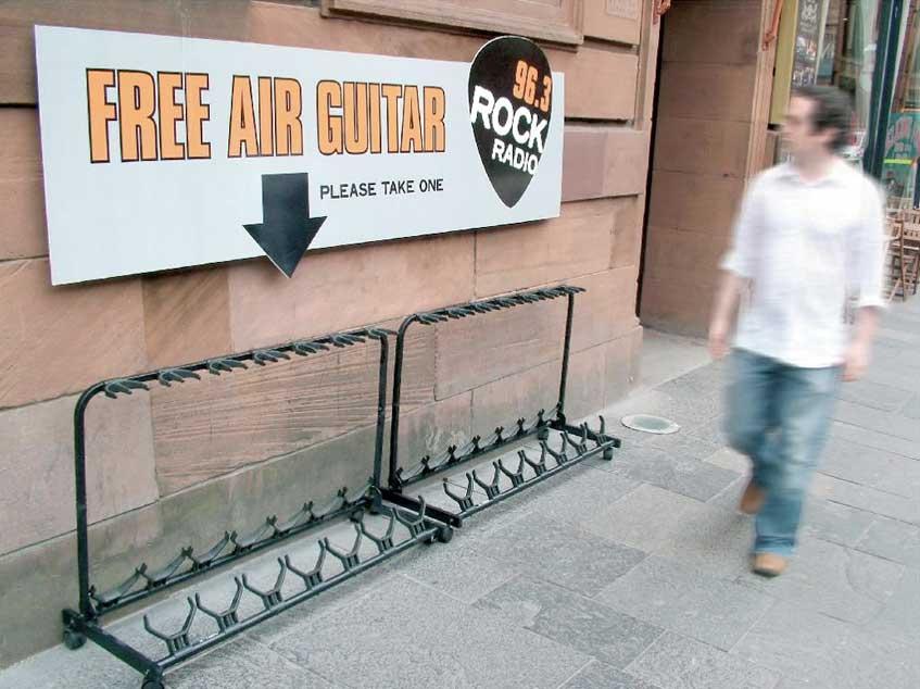Free Air Guitars – Rock Radio Glasgow