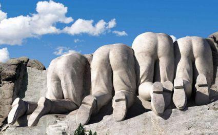 Mount Rushmore Rückseite