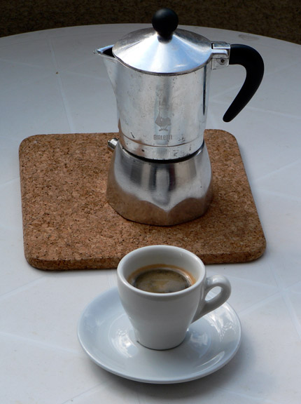 Espresso bei Dave