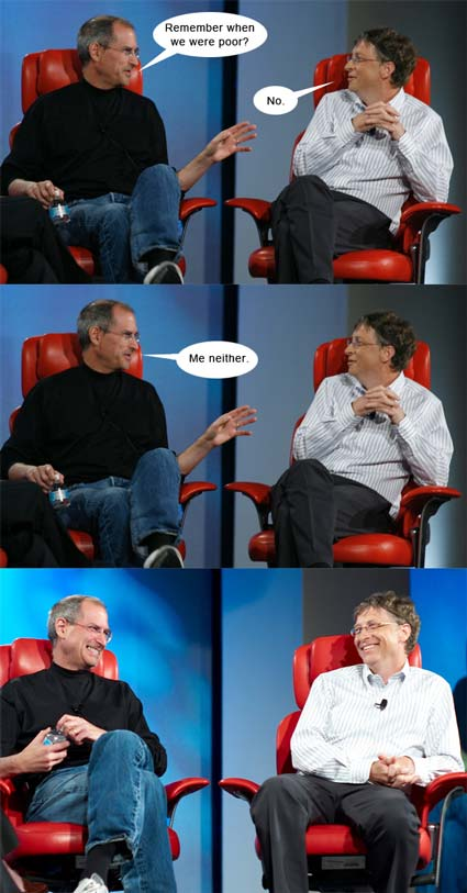 Steve Jobs & Bill Gates Interview @ D5: All Things Digital - 2