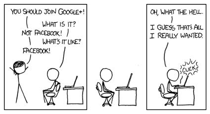 Google+ bei xkcd