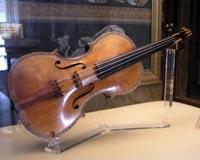 Stradivari-Violine von 1687, ausgestellt im Palacio Real de Madrid