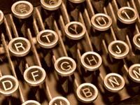 'Typewriter 1' by Benjamin Earwicker