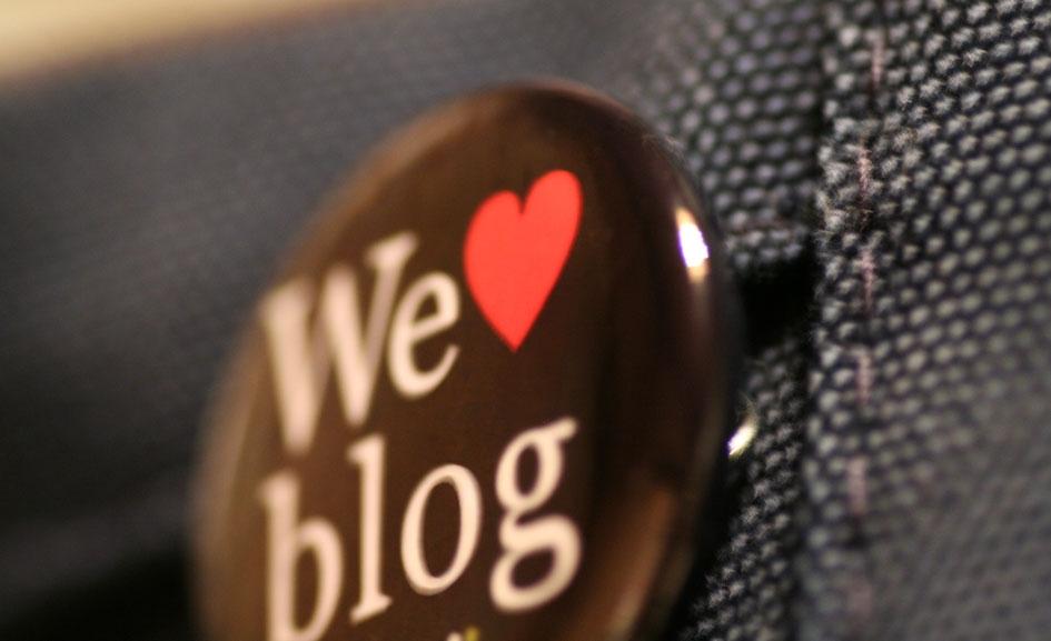 'We ♥ blog' by Taro Yamamoto