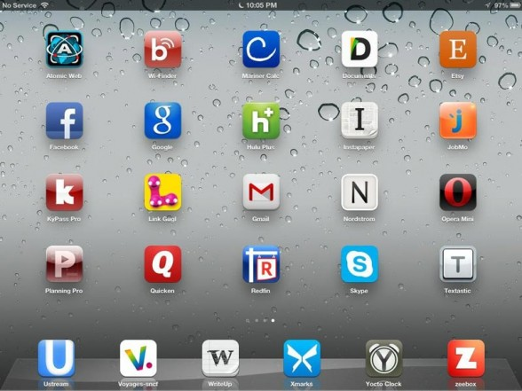 The iOS alphabet by Joe Kissell