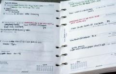 Schedule/Organizer/Calendar/Filofax by Kaitlyn Tierney