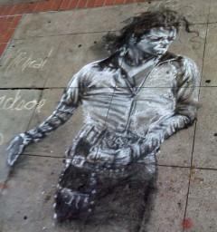 'Michael Jackson Drawing' by Patrick Mark