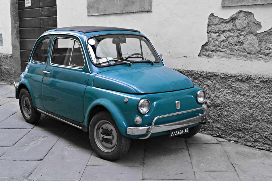 Fiat Cinquecento by Giulia van Pelt
