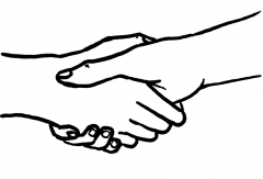 'Handshake' by Aidan Jones