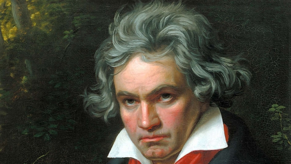 Joseph Karl Stieler: Ludwig van Beethoven, 1820